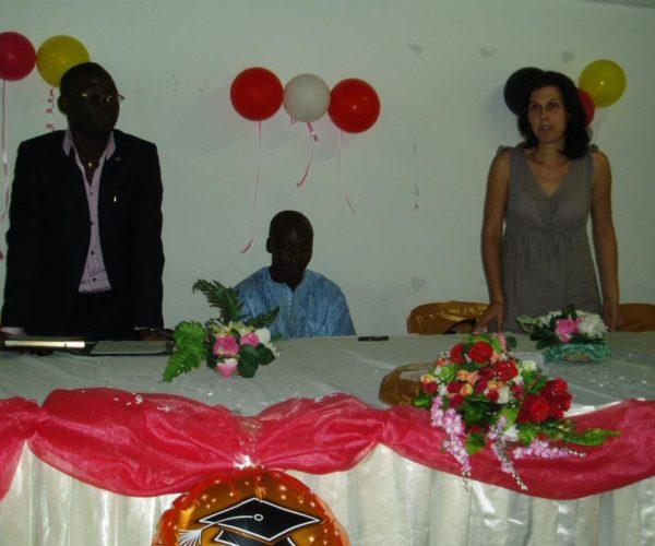 ÖSD Diplomverleihung, Douala, Kamerun