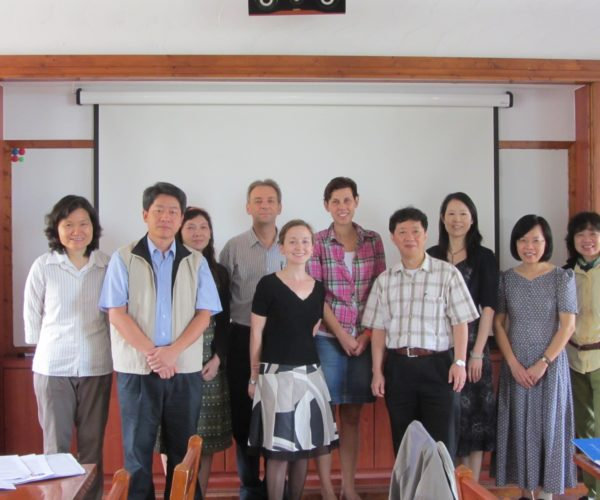 An der Universität Kaohsiung - ÖSD Prüferfortbildung
