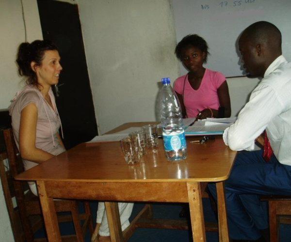ÖSD vizsga Doulaban, Kamerunban