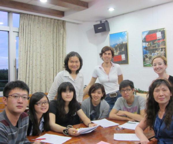 ÖSD vizsga elökészítése a kaohsiungi egyetemen