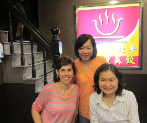 Tanárkollegákkal Kaohsiungban