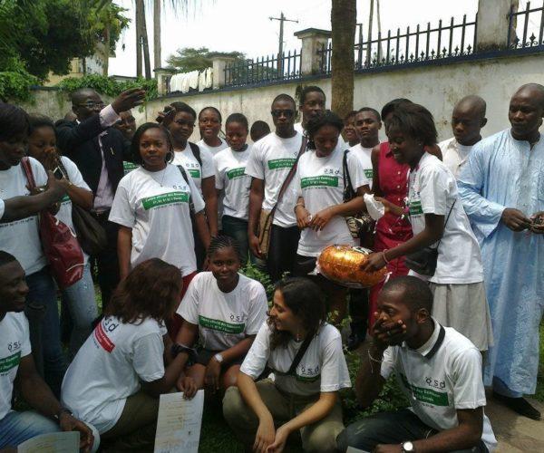 ÖSD Language Exam in Cameroon - Happy candidates